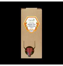 AŁTAJSKI sok z ROKITNIKA SYBERYJSKIEGO (dzikiego!), karton 1,5l (WYDAJNY! rozcieńczać 1 do 4 z wodą)