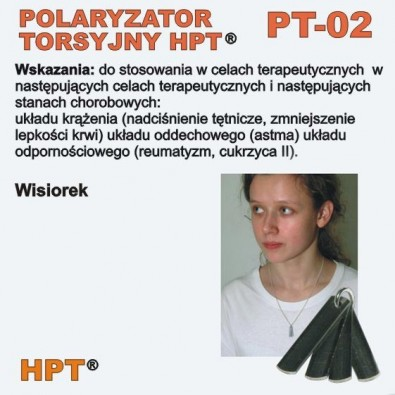 Polaryzator Torsyjny PT - 02 (wisiorek-blaszki)