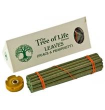 """Kadzidło LIŚCIE - POKÓJ i DOBROBYT, tybetańska seria """"The Tree of Life"""""""