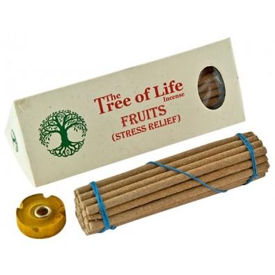 """Kadzidło OWOCE - ODPRĘŻENIE, tybetańska seria """"The Tree of Life"""""""