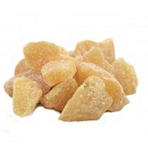 IMBIR w kawałkach, ostry! (z fruktozą) - 100g