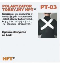 Polaryzator Torsyjny PT - 03 (opaska na bark, plecy, kręgosłup)