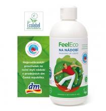 Płyn do mycia naczyń, owoców, warzyw FEEL ECO (ekologiczny) 500ml