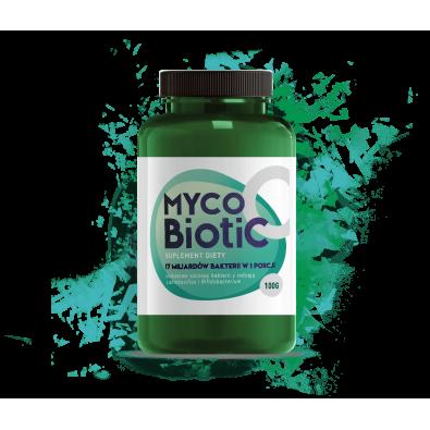 MYCOBIOTIC (probiotyk w proszku 100g) - ZWALCZA BAKTERIE CHOROBOWE i CANDIDĘ
