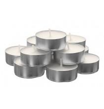 Świeczki TEA-LIGHT (100 szt) , czas palenia 4 godz. - WYSOKA JAKOŚĆ
