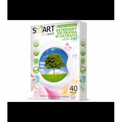 Biodegradowalne LISTKI DO PRANIA - ZAPACH ŚWIEŻOŚCI (super skuteczne!) 40 prań