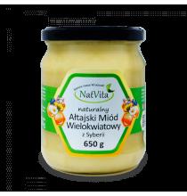 Miód AŁTAJSKI, WIELOKWIATOWY (naturalny, 650g) - SYBERIA!