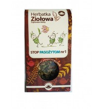 STOP PASOŻYTOM - Herbatka Ziołowa Nr1 (80g)