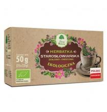 Herbatka STAROSŁOWIAŃSKA, ekologiczna (saszetki, 25 szt)