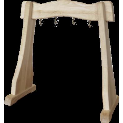 Statyw / Stojak do dzwonków Koshi / lub Gongów do 40cm (drewniany)