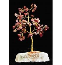 KARNEOL, Drzewo Życia - MAŁE (naturalne kamienie i miedź)