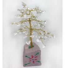 KRYSZTAŁOWE Drzewo Życia - DUŻE (naturalne kamienie i miedź)