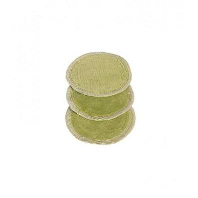 WIELORAZOWE Płatki Kosmetyczne (waciki) - z weluru bawełnianego (3 szt)