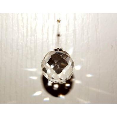 Kula kryształowa (pryzmat) do FENG SHUI - NATURALNY KRYSZTAŁ GÓRSKI!