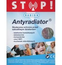 Antyradiator RADION (do telefonów, komputerów, zegarków) - BARDZO SKUTECZNY ODPROMIENNIK!