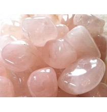Kwarc różowy (szlifowana bryłka)