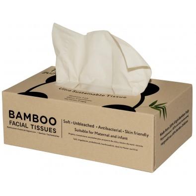 CHUSTECZKI HIGIENICZNE BAMBUSOWE (w pudełku) - 100 szt