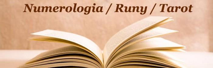 NUMEROLOGIA / RUNY / TAROT